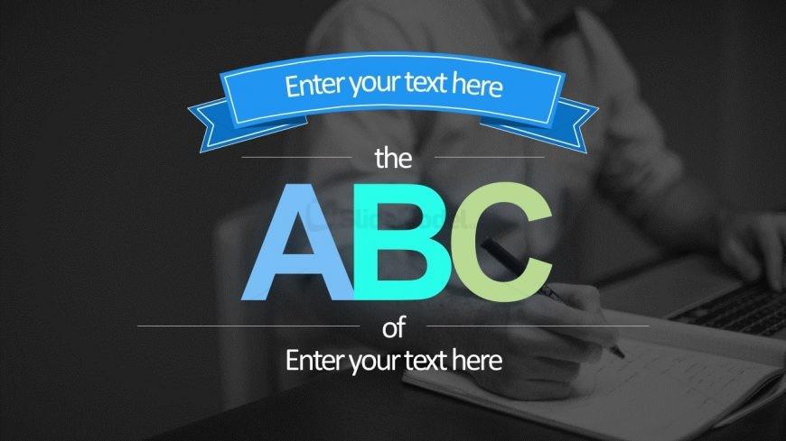 ABC Slide Template