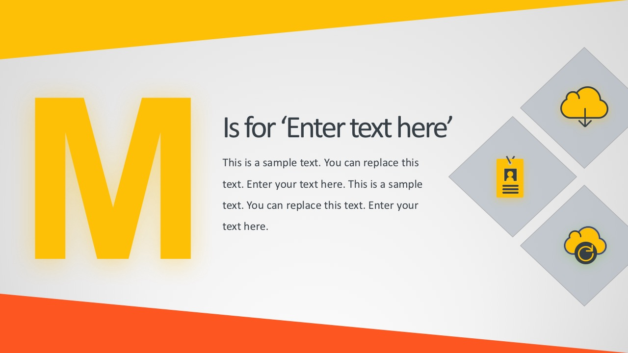 Alphabet PowerPoint Templates and Themes