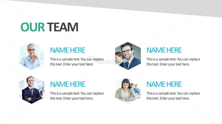Company Template PowerPoint Template Layout