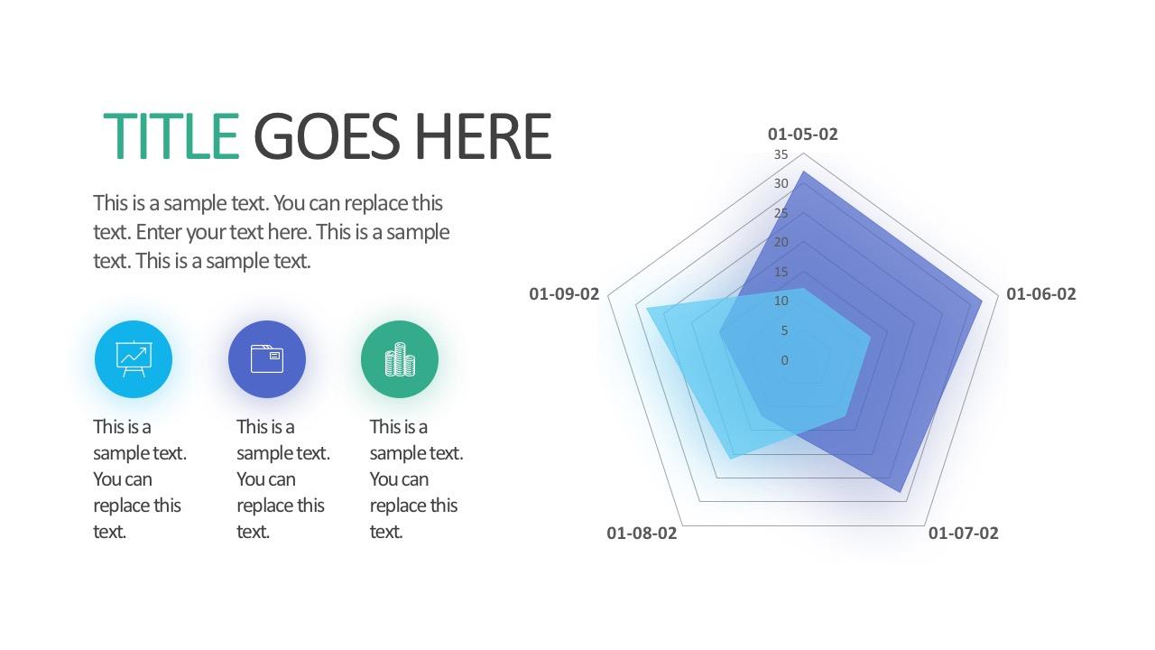 business radar chart powerpoint template