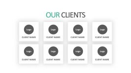 Client Profile Business PowerPoint Template