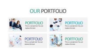 Business Portfolio PowerPoint Presentation Slides
