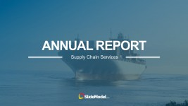 Supply Chain Annual Report PowerPoint Template