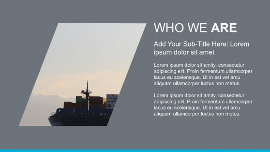 Company About Us PowerPoint Template