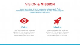 Vision Mission Template With PowerPoint Icons
