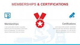 Editable Verified Membership PowerPoint Icons