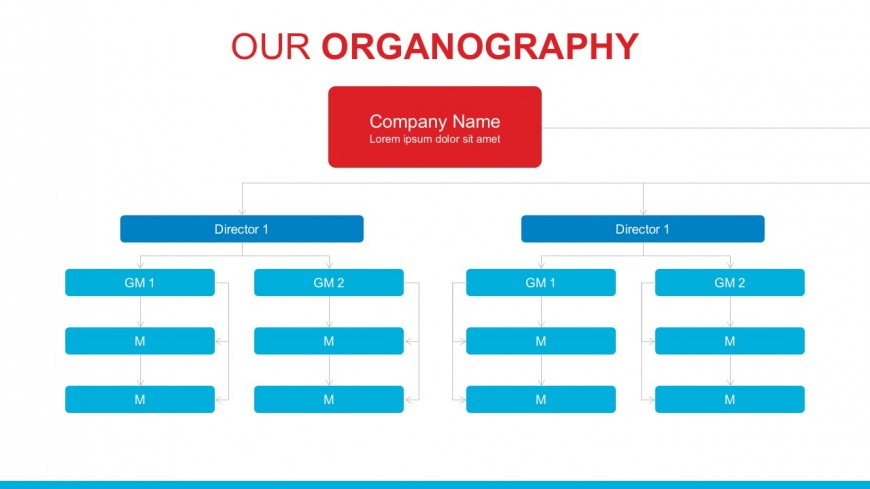 Business chain of command powerpoint template slidemodel company departments and hierarchy template friedricerecipe