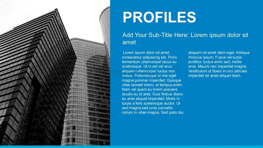 Business Profiles Report PowerPoint Template