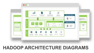 Apache Hadoop Diagrams PowerPoint Slides