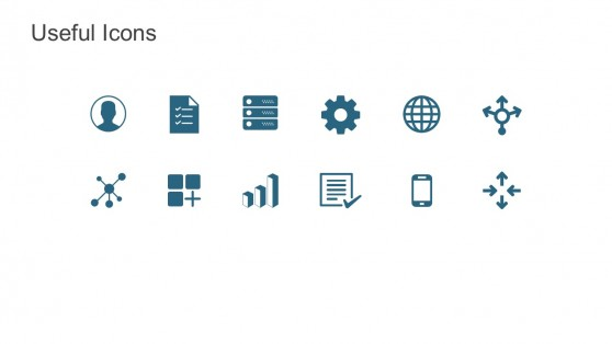 Hadoop Useful Icons For PowerPoint Templates