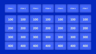 Game Show Question Slide Template