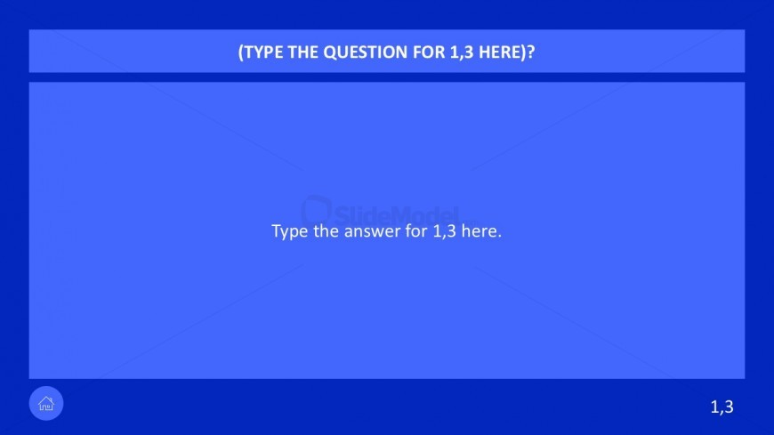 Classroom Jeopardy PowerPoint with Animation