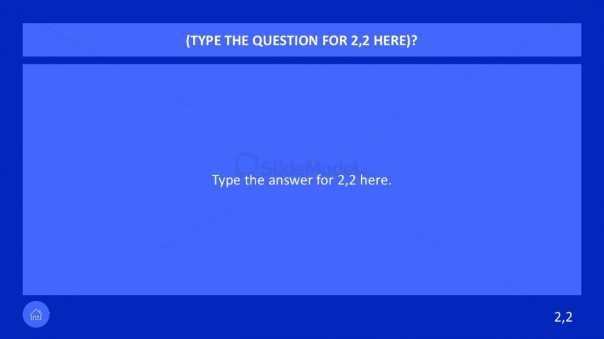 Corporate Question Answer Template Slides