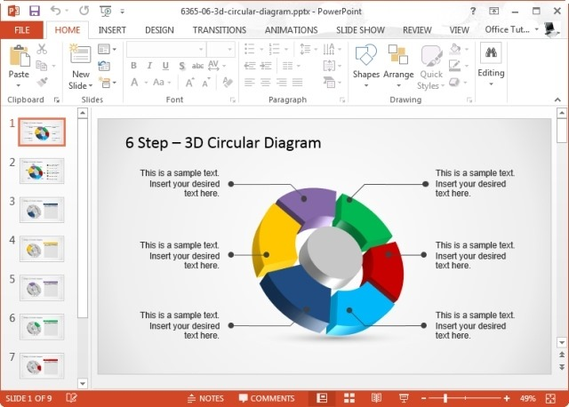 making a template in powerpoint