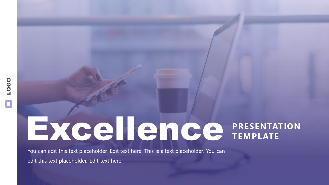 Cover of Business Slide Deck of Excellence