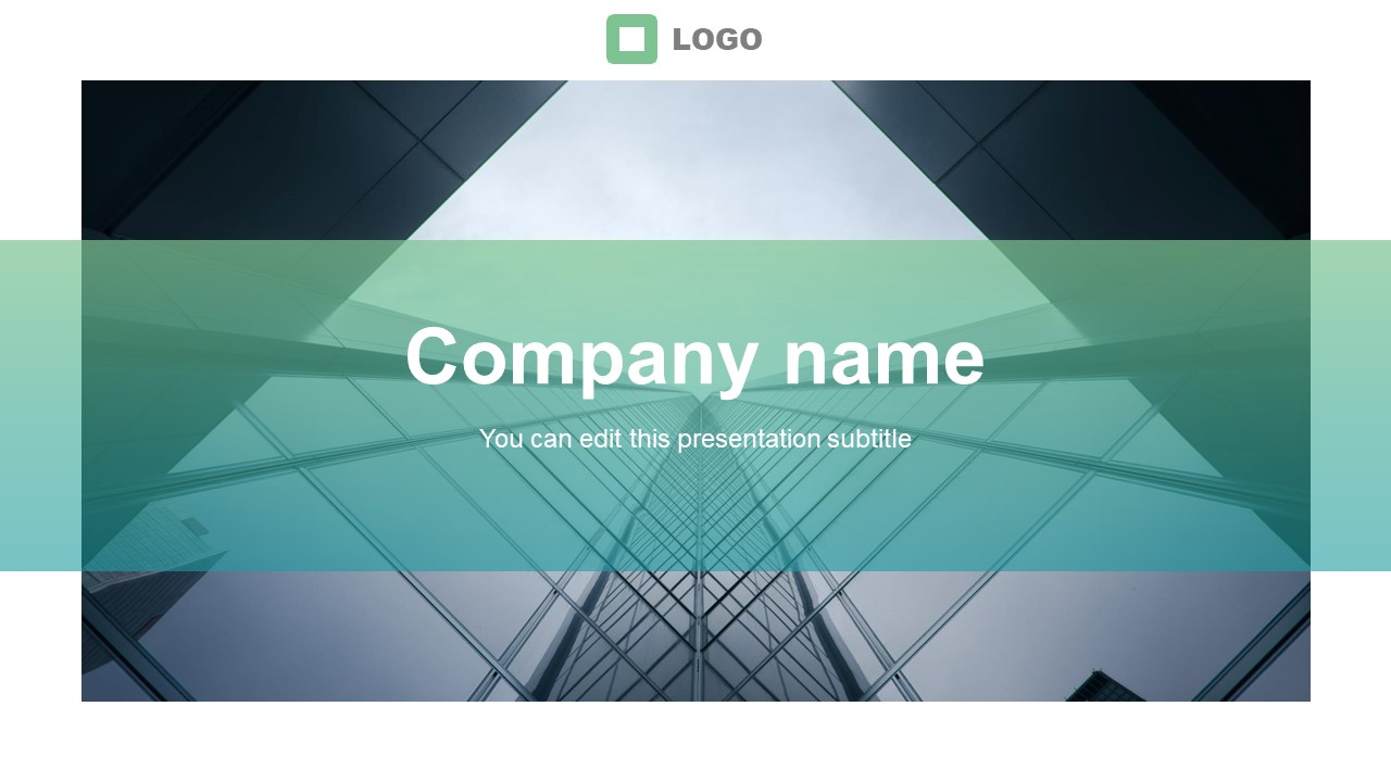 Business Profile Template Cover