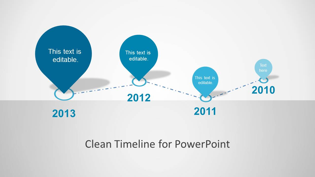 Clean timeline template for powerpoint slidemodel clean timeline template for powerpoint toneelgroepblik Choice Image