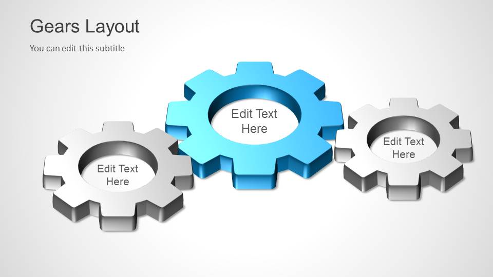 Gears Layout Template For Powerpoint Slidemodel