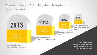 Timeline Milestones for PowerPoint