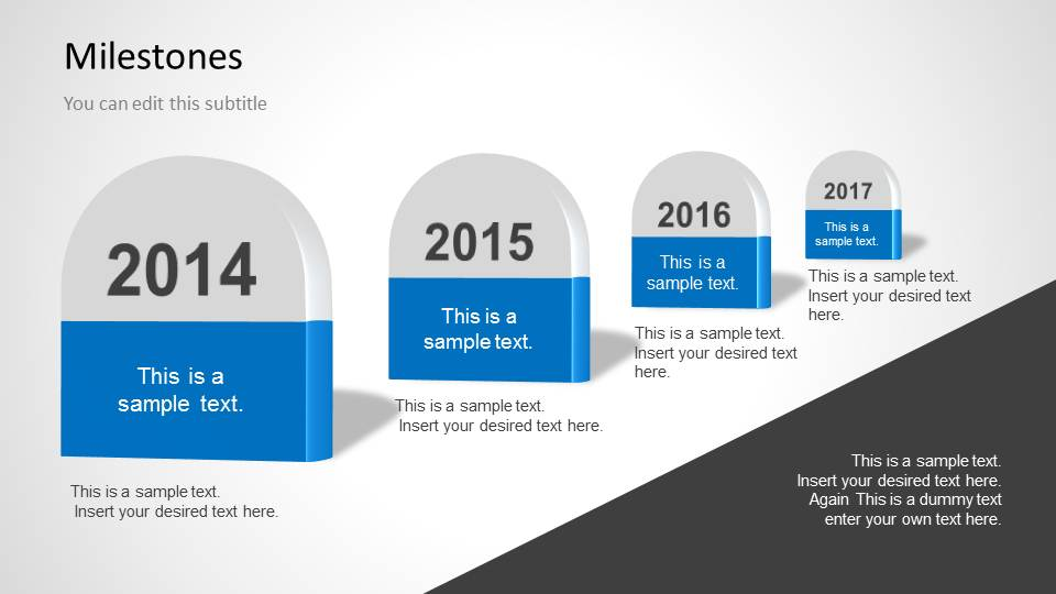 Milestones Template for PowerPoint - SlideModel