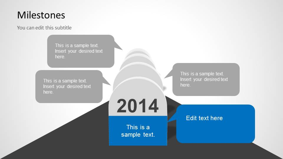 Milestones Template For Powerpoint Slidemodel