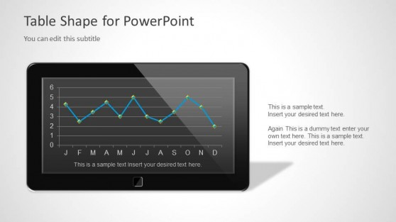 Smartphone Tablet PowerPoint Template