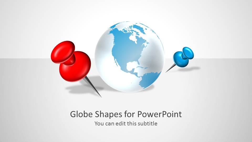 Globe Shapes for PowerPoint Presentations