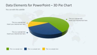3D Pie Chart Design for PowerPoint