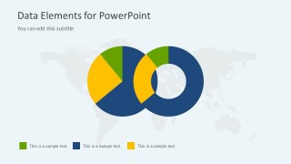 Two Pie Charts in the Same Slide Design for PowerPoint