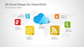 Cloud Computing Shapes for PowerPoint