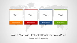 World map with color callouts for powerpoint slidemodel world map with color callouts for powerpoint a colorful and creative approach in world mapping and labeling the modern design makes a fresh and publicscrutiny Images
