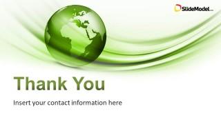 Global Green Powerpoint Template Slidemodel