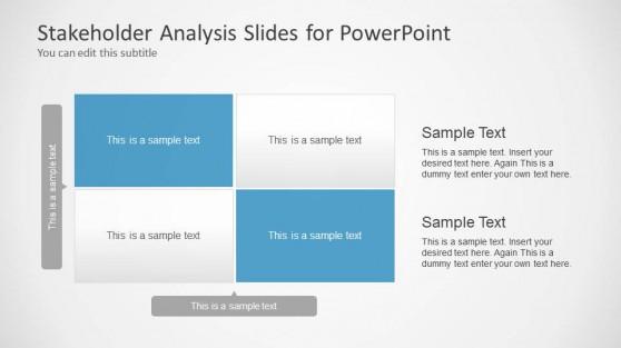 Stakeholder Analysis Slide Design for PowerPoint
