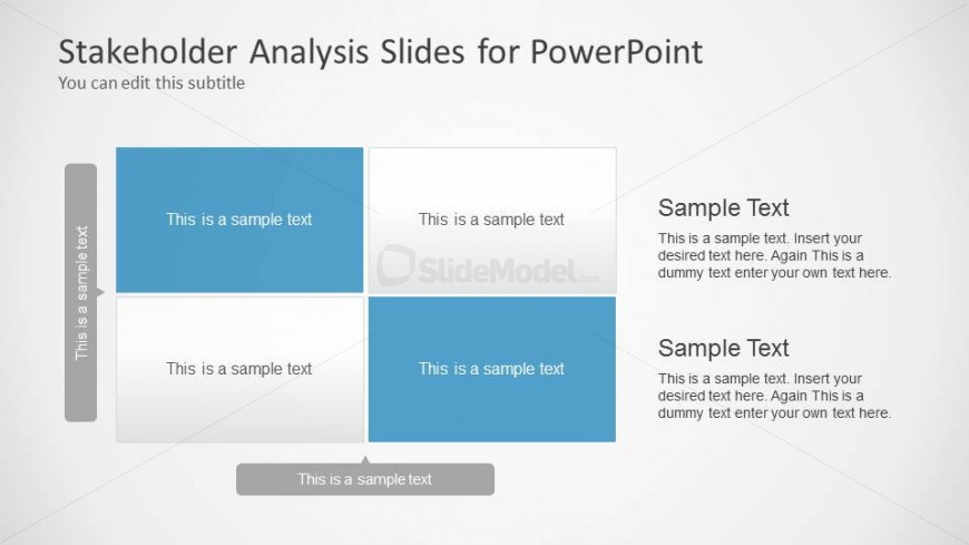 Stakeholder Analysis Slide Design For Powerpoint  Slidemodel