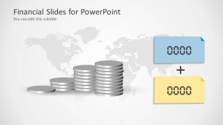 Coin Shapes & Sticky Notes for PowerPoint