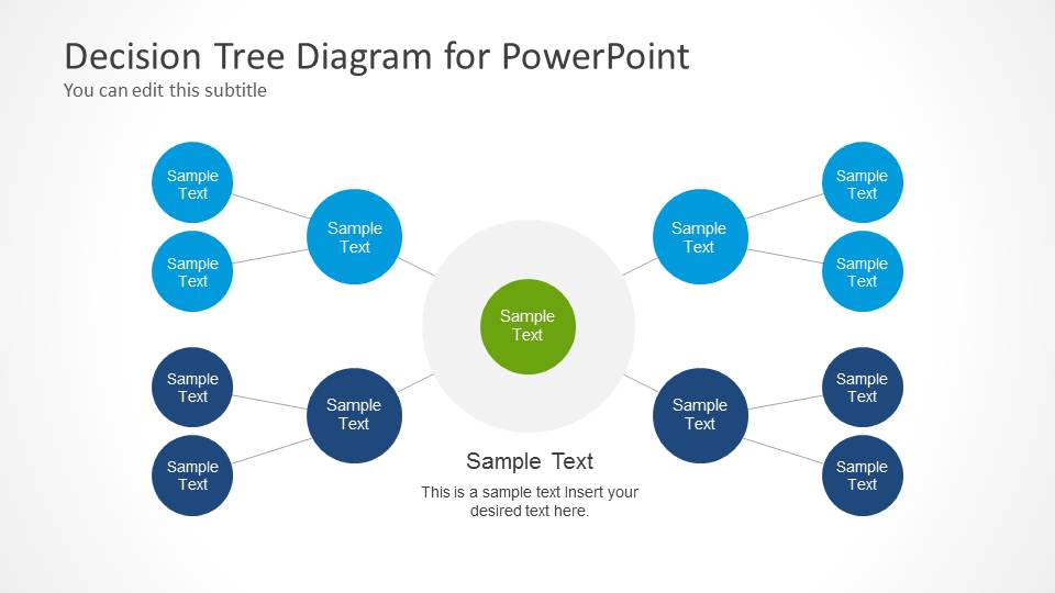 Decision tree diagram for powerpoint slidemodel ccuart Choice Image