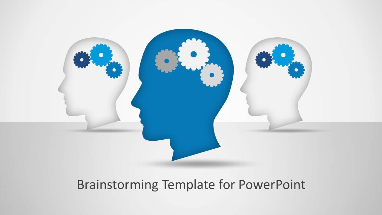 Brainstorming powerpoint template slidemodel brainstorming powerpoint template ccuart Choice Image