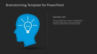 PowerPoint Metaphor of Innovative Idea