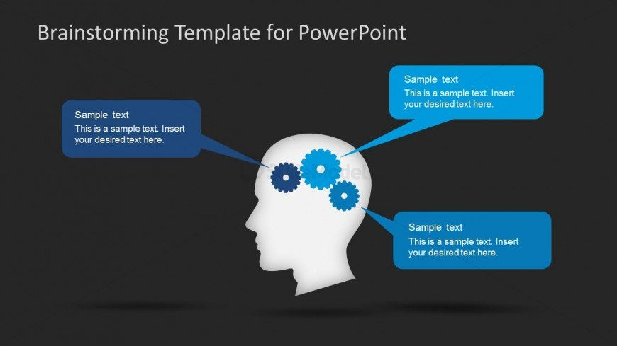 PowerPoint Template for Brainstorming Session