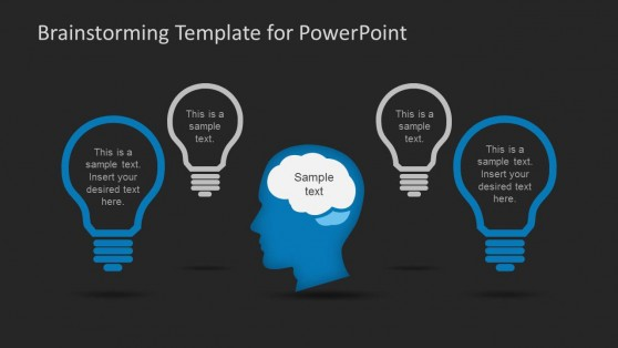 Session powerpoint templates 6133 02 brainstorming powerpoint template black 4 toneelgroepblik