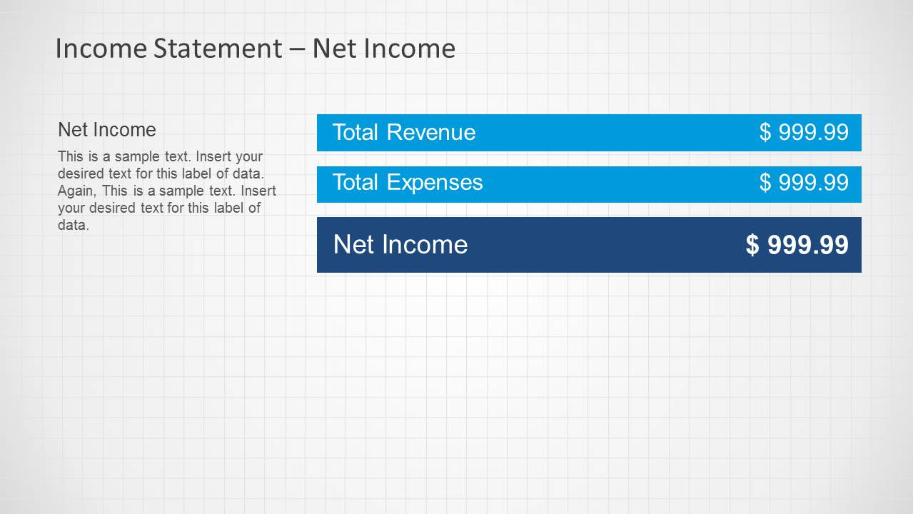 Income Statement Powerpoint Template Slidemodel