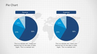 Two Pie Charts in a PowerPoint Slide