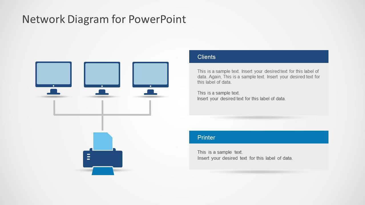 server network diagram template – my site, Powerpoint templates