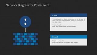 Network Diagram Template For Powerpoint Slidemodel