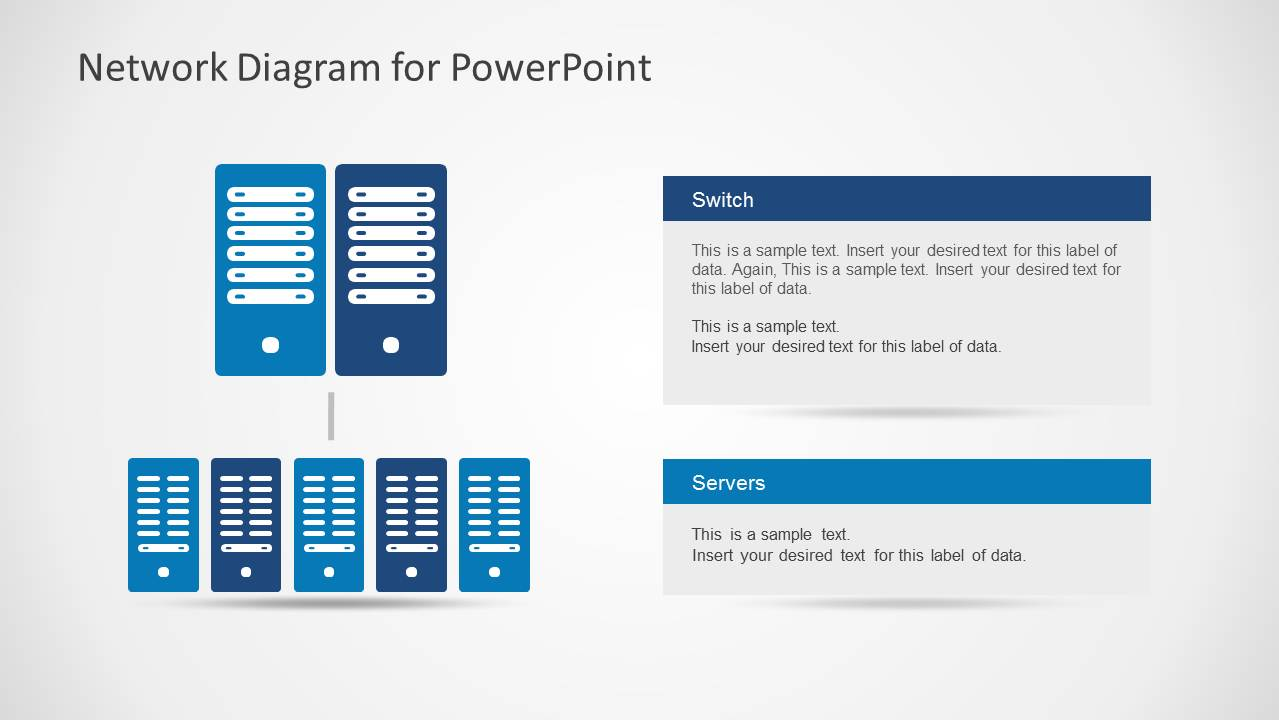 Network Diagram Template for PowerPoint - SlideModel