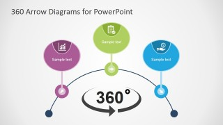 PowerPoint Overview Diagram for 360 Concept