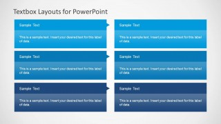 3x2 Text Boxes for PowerPoint