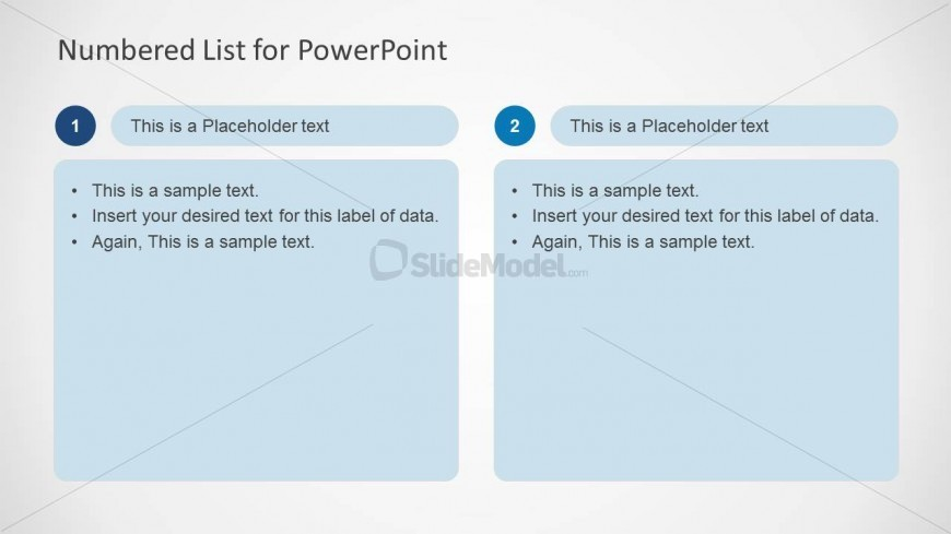 PowerPoint Tables Comparing Values
