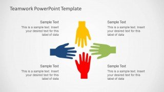teamwork powerpoint template - slidemodel, Modern powerpoint