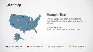 Editable Ballot Map Design for PowerPoint